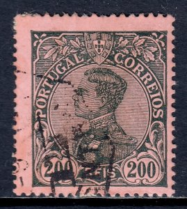 Portugal - Scott #166 - Used - Paper adhesion/rev., short perfs - SCV $4.25