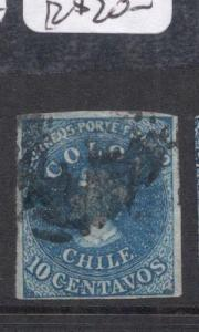 Chile SC 12a Copy One VFU (4dmm)