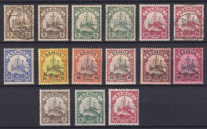 SAMOA - INTERESTING MINT & USED GROUP REMOVED FROM STOCK PAGE - V596
