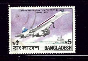 Bangladesh 152 Used 1978 Anniv of Powered Flight