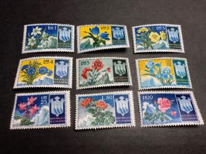 San Marino Scott 336-44 Mint OG NH CV $67.50