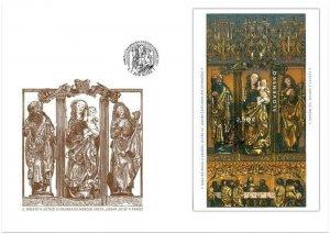 SLOVAKIA/2017, (Special Cover) ART: St. James Altar, MNH