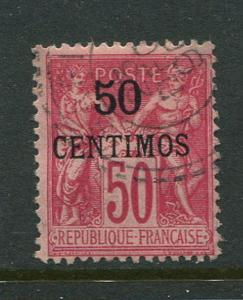 French Morocco #6 Used