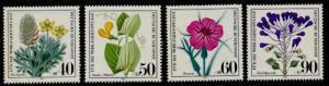 Germany B577-80 MNH Wildflowers