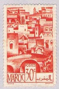 French Morocco 222 Used The Terraces 1947 (BP34116)