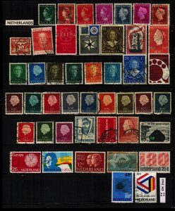 NETHERLANDS & Colonies CLEARANCE: 44 total  ~ CLR90338
