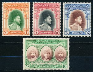 Bahawalpur #18-21  Set of 4 MNH