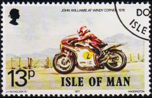 Isle of Man. 1977 13p S.G.102 Fine Used