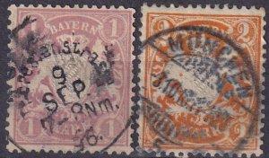 Bavaria #54-5  F-VF Used CV $11.50 (Z3998)