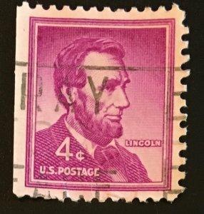 1036b Lincoln, Liberty Series, Circulated Single, Vic's Stamp Stash