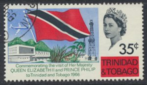 Trinidad & Tobago  SG 316  Used Royal Visit 1966  SC# 122 - see details