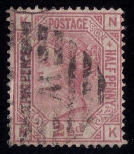 Great Britain Sc #67 Used PL4 F-VF