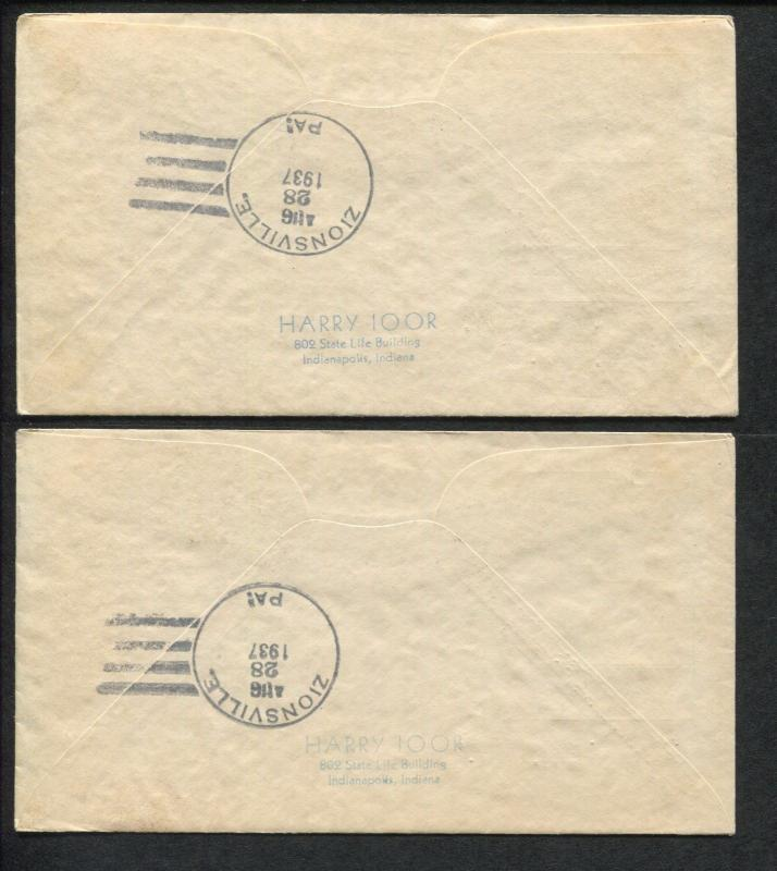 Lot of 2 First Day Covers SPA Convention Station Asheville