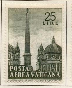 Vatican City 1959 AIR Early Issue Fine Mint Hinged 25L. 158892