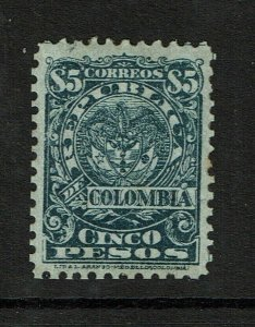 Colombia SC# 264 Mint Hinged / Hinge Rem / Minor Gum Tone - S10261