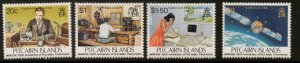 PITCAIRN ISLANDS SG479/82 1995 CENTENARY OF FIRST RADIO TRANSMISSION MNH