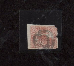 Canada #1 Used With Sharp Laid Lines - Space Filler