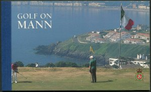 Isle of Man 756a booklet,MNH. PACIFIC-1997.Ryder Cup.