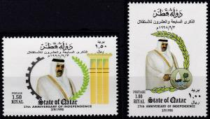 Qatar 913-914 MNH (1998)