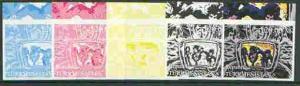 Turkmenistan 2000 Thin Lizzie (From Pop Art sheetlet) the...