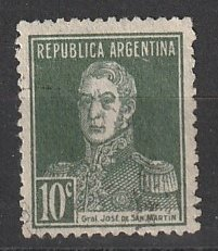 #329 Argentina Used