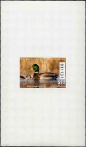 MISSISSIPPI #35A 2010 STATE DUCK MALLARDS  HUNTER TYPE by Joe MacHudspeth