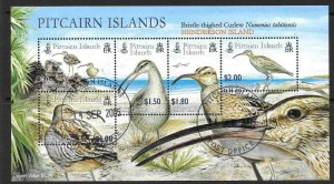 PITCAIRN ISLANDS SGMS699 2005 CURLEW FINE USED