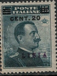 Libya 1916 SC 19 MNH SVC$ 140.00