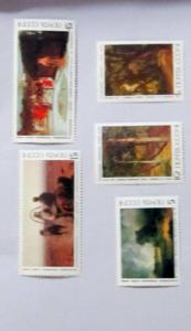 Russia - 5466-70, MNH Set. Paintings. SCV - $2.35