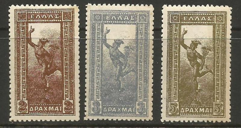 GREECE 176-78 MNH Z3-217