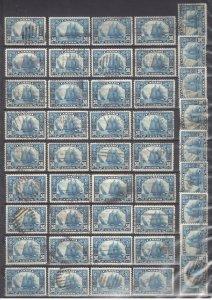 Bundle Lot of #158 used x 100 --- Rare Bluenose quantities C$8500,00