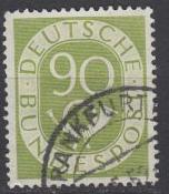 Germany - 1952 Post Horn 90pf Sc# 685 (56)