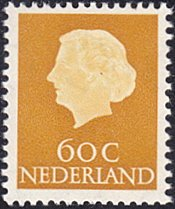 Netherlands # 355 mnhÊ ~ 60¢ QueenÊ Juliana