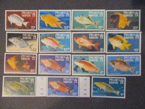 Pitcairn Islands #231-43,295-96 Mint Never Hinged - (1C9) WDWPhilatelic