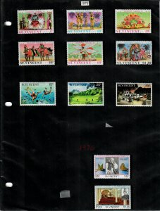 St Vincent 49 Stamps/1 Sheet MH/MNH/Used (SCV $30.95) Starting at 5%
