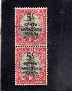 KENYA TANZANIA UGANDA GREAT BRITAIN 1941 1942 SOUTH AFRICA OVERPRINTED 5C ON ...
