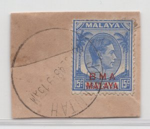 Malaya BMA - 1945 - SG 12 - Fine Used (Jementah Cancellation)