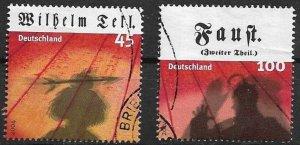 GERMANY BRD 2004 used gestempelt Mi 2391 2392 from bloc 65