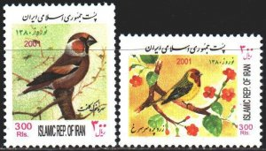 Iran. 2001. 2850-51. Birds of Iran. MNH.