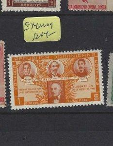 DOMINICAN REPUBLIC  (P1305B) 1$  SC 574  MOG