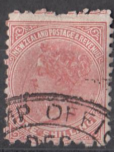New Zealand 67 SG 199 Fine 1882 SCV $15.00