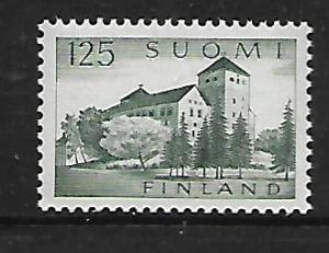 FINLAND 381 MNH TURKU CASTLE 1961