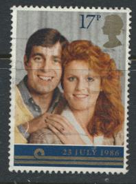 Great Britain SG 1334 - Used - Royal Wedding