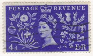 Great Britain #314 used