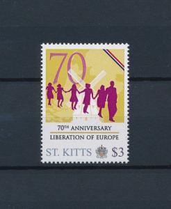 [80892] St. Kitts 2011 Second World war Liberation Europe Windmill MNH