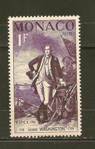 Monaco 354 Washington Mint Hinged