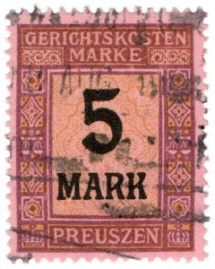 (I.B) Germany Revenue : Prussia Court Fees 5M