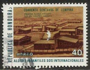 Honduras Air Mail 1972 Scott# C523 Used (perfs)