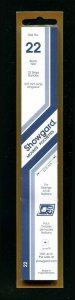 Showgard BLACK Strip Mounts Size 22 = 22.5 mm Fresh New Stock Unopened