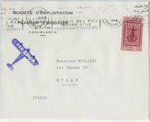 59298 -    MOROCCO - POSTAL HISTORY: COVER to ITALY - 1968 - HUMAN RIGHTS